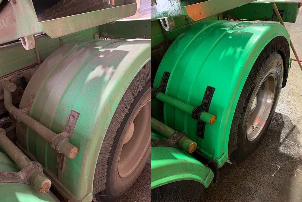 ReziSafe Acid Safe Gel Wheel hub concrete stripper